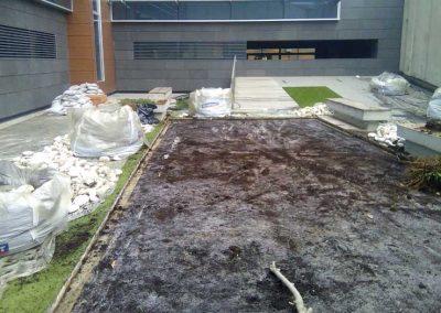 Rehabilitación de jardineras en Castellón