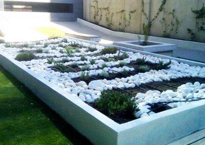 Rehabilitación de Jardineras